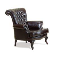 Тёмно-коричневое кресло Sonata-Pro Arte в Петропавловске