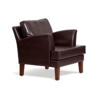 Тёмно-коричневое кресло Sonata-Pro Elena в Петропавловске