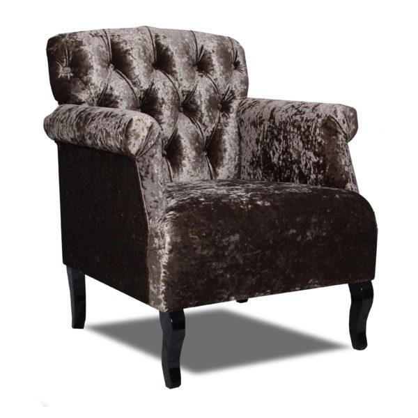Тёмно-коричневое кресло Sonata-Pro Monica в Петропавловске