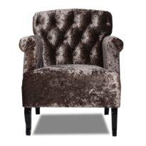 Тёмно-коричневое кресло Sonata-Pro Monica в Петропавловске вид прямо