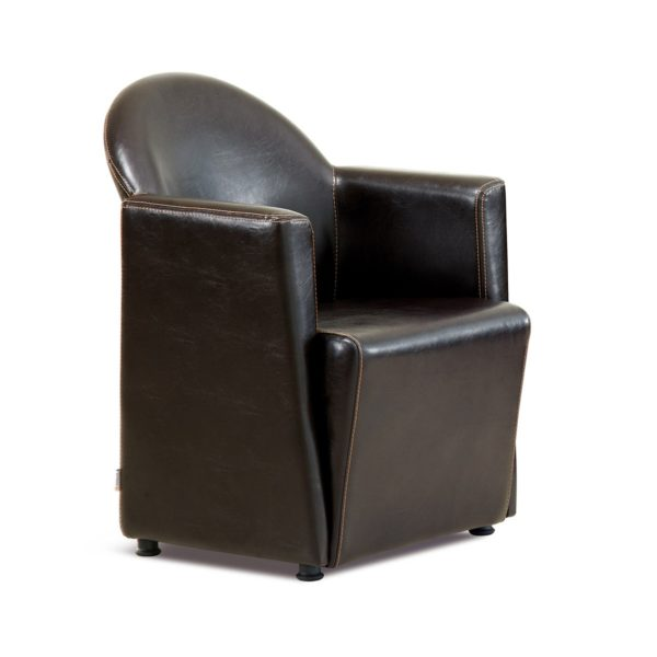 Тёмно-коричневое кресло Sonata-Pro Prestij в Петропавловске