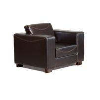 Тёмно-коричневое кресло Sonata-Pro Riva Set в Петропавловске