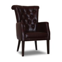 Тёмно-коричневое кресло Sonata-Pro Sultan Kapitonelli в Петропавловске