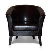 Тёмно-коричневое кресло Sonata-Pro Yonca в Петропавловске вид прямо