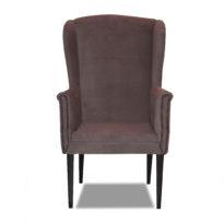 Тёмно-серое кресло Amante classic в Петропавловске вид прямо