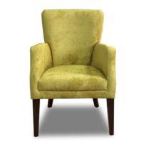 Жёлтое кресло Sonata-Pro Gold в Петропавловске вид прямо