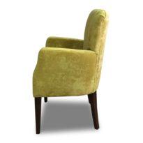 Жёлтое кресло Sonata-Pro Gold в Петропавловске вид сбоку