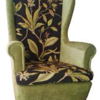 Зелёно-чёрное кресло Sonata-Pro Fedele в Петропавловске