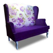 Бело-фиолетовый диван Sonata-Pro Beatris в Петропавловске