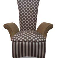 Бежево-коричневое кресло Sonata-Pro Provasini в Петропавловске