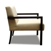 Бежево-коричневое кресло Sonata-Pro Sofit в Петропавловске вид сбоку