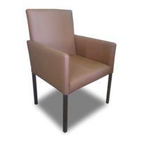 Бежево-коричневое кресло Sonata-Pro Steven в Петропавловске