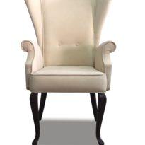 Бежевое кресло Sonata-Pro Liberti в Петропавловске вид прямо