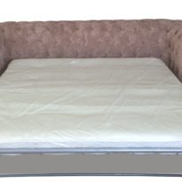 Бежевый диван Sonata-Pro Chesterfield в Петропавловске разложенный