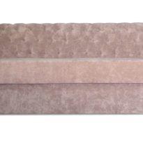 Бежевый диван Sonata-Pro Chesterfield в Петропавловске вид прямо