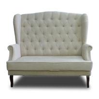Бежевый диван Sonata-Pro Luisa в Петропавловске вид прямо