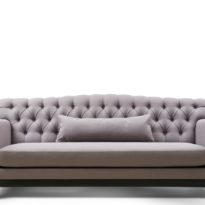 Бежевый диван Sonata-Pro Milan в Петропавловске вид прямо