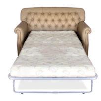 Бежевый диван Sonata-Pro Rochelle в Петропавловске разложенный