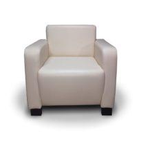 Чёрно-бежевое кресло Sonata-Pro Henry в Петропавловске вид прямо