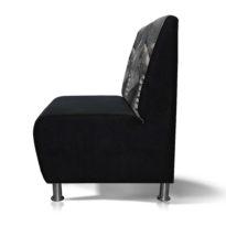Чёрно-серый диван Sonata-Pro Matteo в Петропавловске вид сбоку