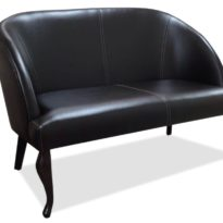 Чёрный диван Sonata-Pro Papatya в Петропавловске