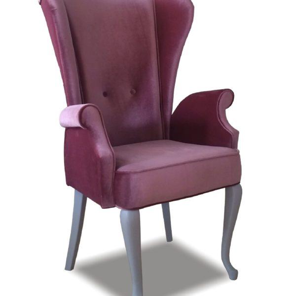 Фиолетовое кресло Sonata-Pro Liberti в Петропавловске
