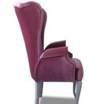 Фиолетовое кресло Sonata-Pro Liberti в Петропавловске вид сбоку