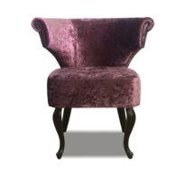 Фиолетовое кресло Sonata-Pro Loft Classic в Петропавловске вид прямо