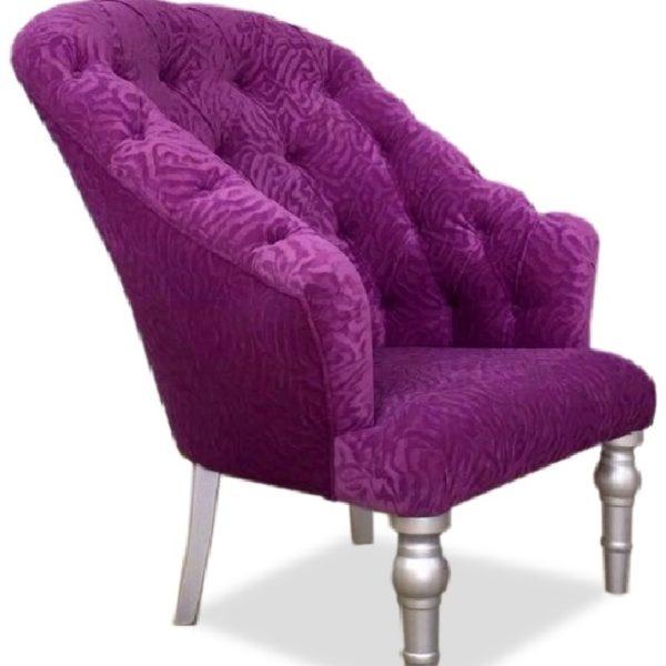 Фиолетовое кресло Sonata-Pro Satin в Петропавловске