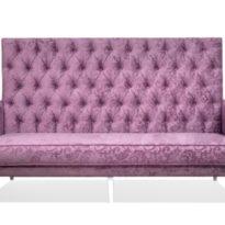 Фиолетовый диван Sonata-Pro Carbon в Петропавловске вид прямо