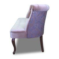 Фиолетовый диван Sonata-Pro Franconi в Петропавловске вид сбоку