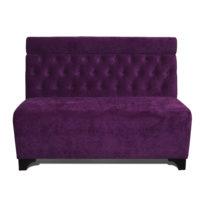 Фиолетовый диван Sonata-Pro Pietro в Петропавловске вид прямо