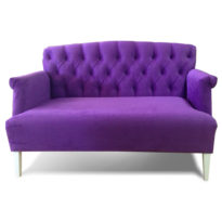 Фиолетовый диван Sonata-Pro Stefano в Петропавловске вид прямо