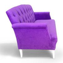 Фиолетовый диван Sonata-Pro Stefano в Петропавловске вид сбоку