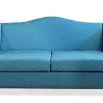 Голубой диван Sonata-Pro Dublin в Петропавловске вид прямо