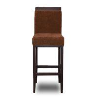 Коричневыйбарный стул Sonata-Pro Edem в Петропавловске вид прямо