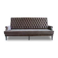Коричневый диван Sonata-Pro Carbon в Петропавловске вид прямо