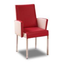 Красно-бежевое кресло Sonata-Pro Ryan в Петропавловске
