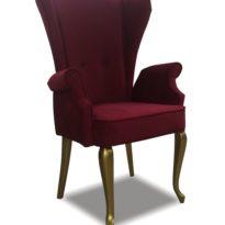 Красное кресло Sonata-Pro Liberti в Петропавловске