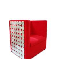 Красное кресло Sonata-Pro Madison в Петропавловске