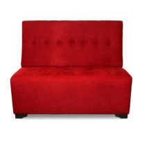 Красный диван Sonata-Pro Darina в Петропавловске