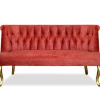 Красный диван Sonata-Pro Franconi в Петропавловске
