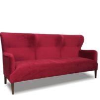 Красный диван Sonata-Pro Rosalee в Петропавловске