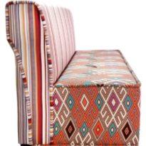 Красный, разноцветный диван Sonata-Pro Dafne в Петропавловске вид сбоку