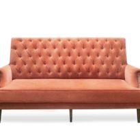 Оранжевый диван Sonata-Pro Carbon в Петропавловске вид прямо
