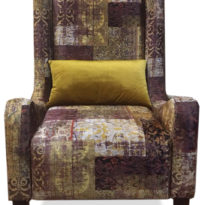 Разноцветное кресло Sonata-Pro Sioop в Петропавловске вид прямо