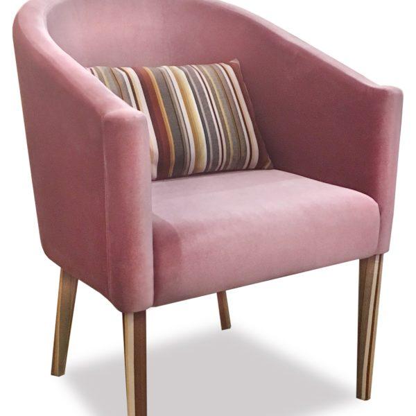 Розовое кресло Sonata-Pro Sinan в Петропавловске
