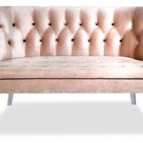 Розовый диван Sonata-Pro Franconi в Петропавловске