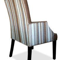 Серо-розовое кресло Sonata-Pro Magi в Петропавловске вид сзади