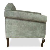 Серое кресло Sonata-Pro Ola в Петропавловске вид сбоку